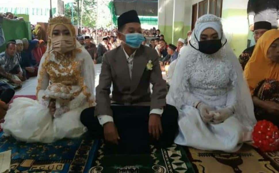 9 Tahun Hijrah Ke Malaysia, Pemuda Lombok Pulang Kahwin Dua Isteri Sekali Gus