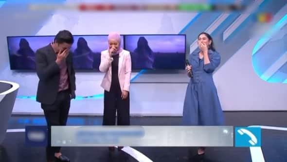 [VIDEO] Tersasul Sebut Nama, Lawak Habis Tengok Sissy Imann Layan Ragam Peminat