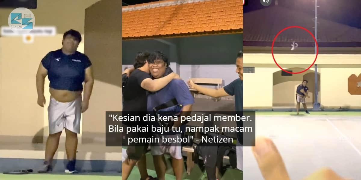 [VIDEO] Excited Member Bagi Hadiah, Sekali 'Bengang' Tengok Baju Kemain Senteng
