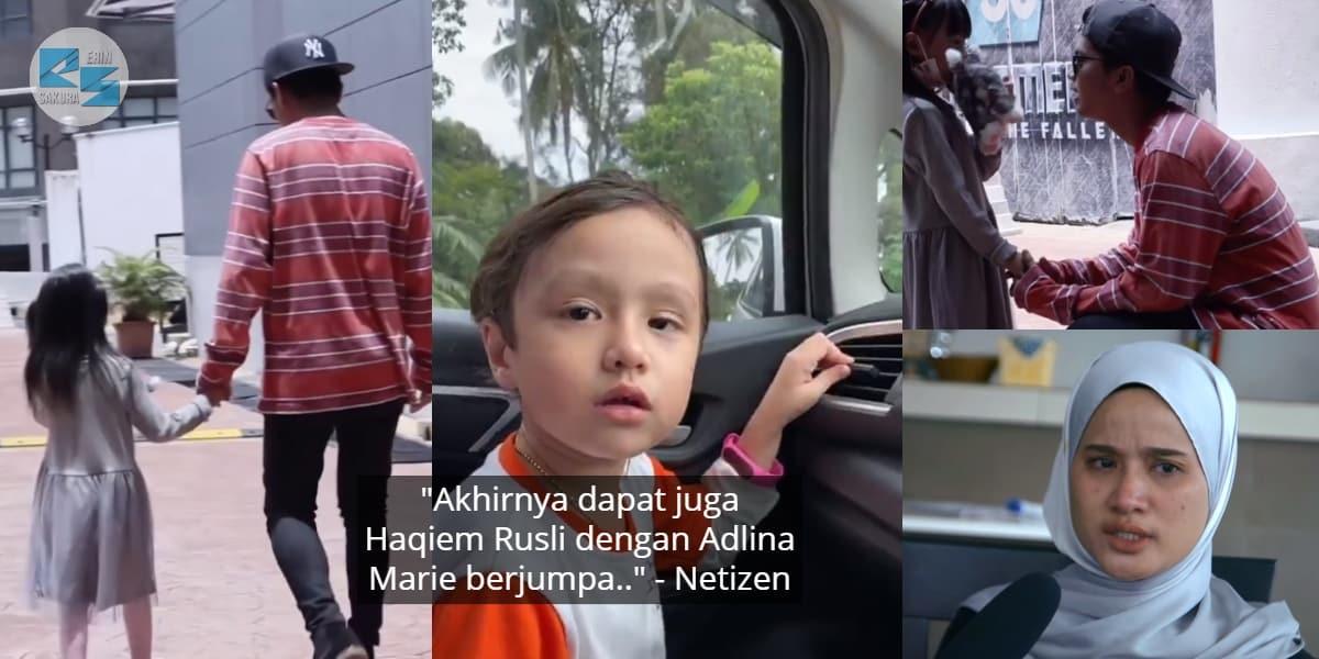 Pertemuan Kali Pertama Adlina Marie & Haqiem Rusli Penuh Sweet & Undang Sebak