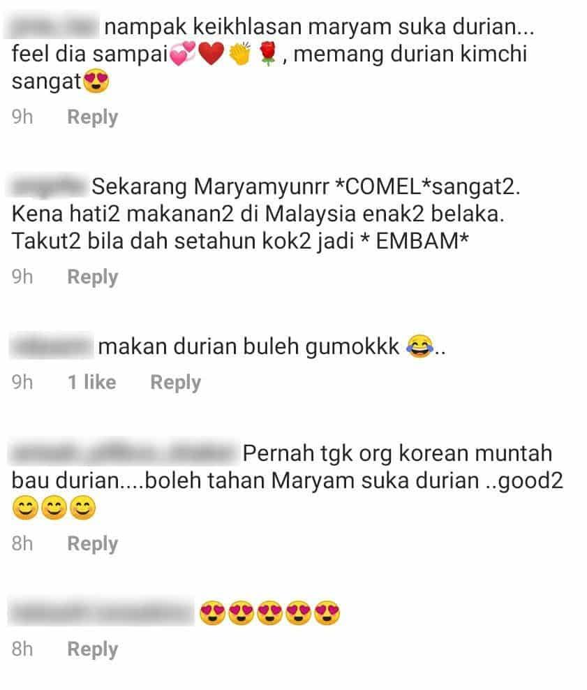 """[VIDEO] """"Sumpah Gembira""""-Dapat Keluar Rumah, Maryam Bersungguh 'Bedal' Durian"""