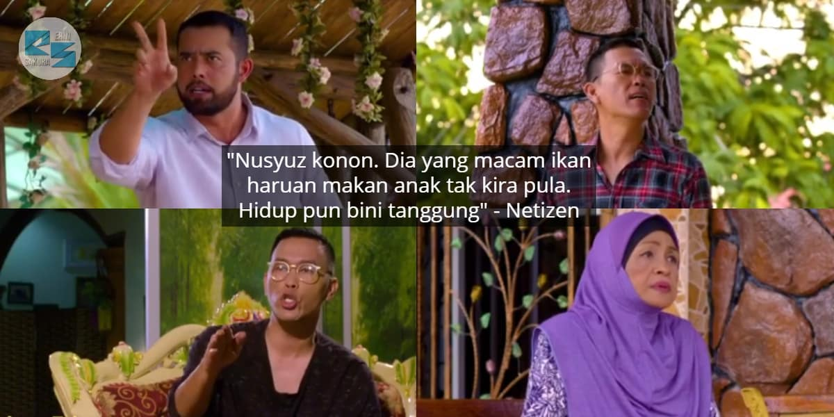 Suami Tuduh Isteri Nusyuz, Episod 'Bidadari Kiriman Tuhan' Buat Penonton Geram