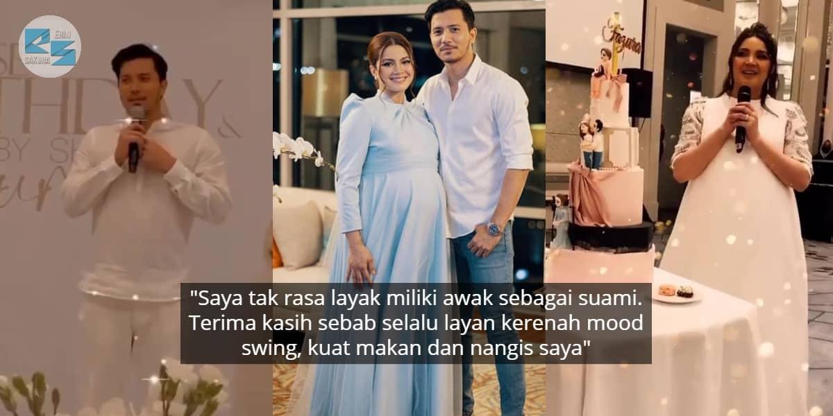"""Isteri Bakal Bersalin, Fattah Amin Throwback Detik Kenal Fazura-""""Kacaknya Awak"""""""