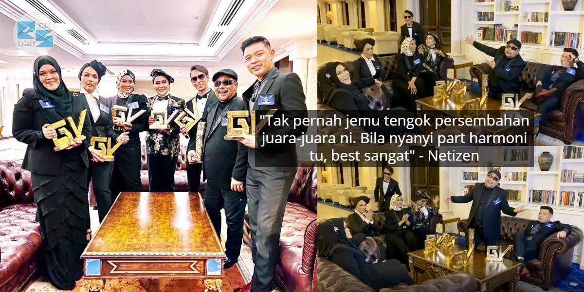 [VIDEO] Juara Gegar Vaganza 6 Musim 'Payung' Lagu, Nyanyi Santai Dah Padu Habis