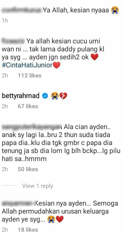 """""""Mau Masuk Singapore""""- Dah Berbulan Tak Jumpa, Ayden Meraung Rindu Aliff Aziz"""