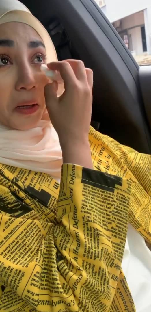 [VIDEO] Terbatuk & Menangis Buat Swab Test, Uyaina Arshad Kongsi Pengalamannya