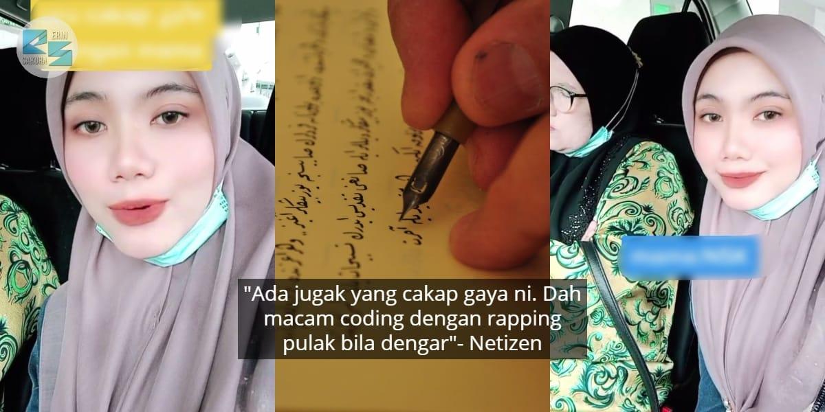 """[VIDEO] Persis Loghat Siam, Wanita Viral Fasih Berbahasa Jawi- """"Dah Macam Rap"""""""