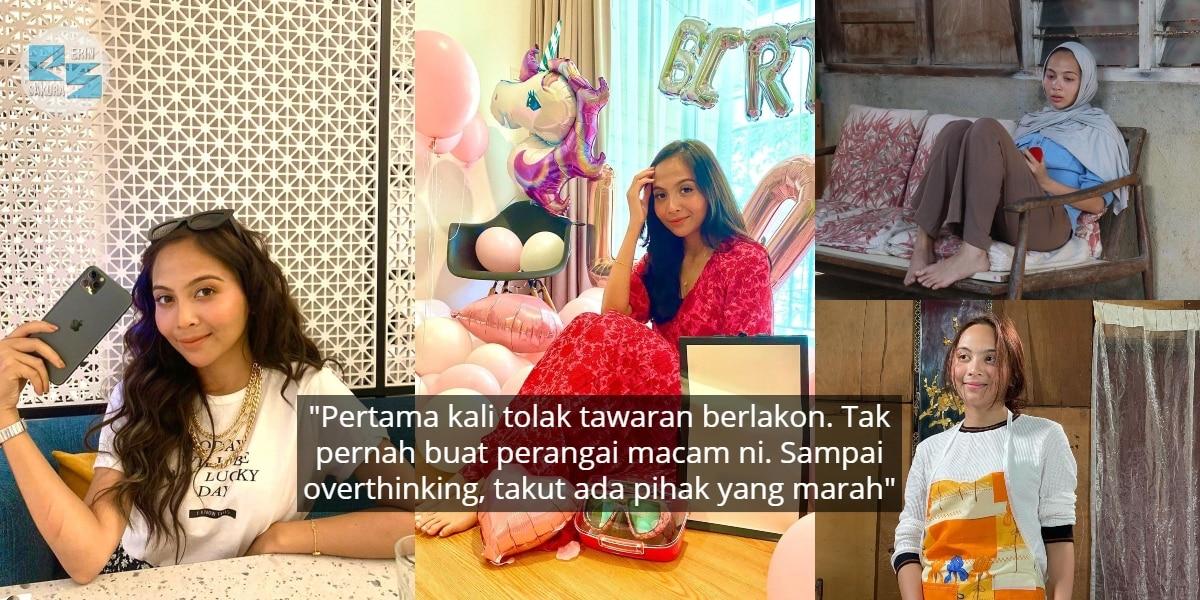 Berbulan Kerja Non-Stop, Riena Diana Muntah Teruk & Nekad Tolak Offer Berlakon