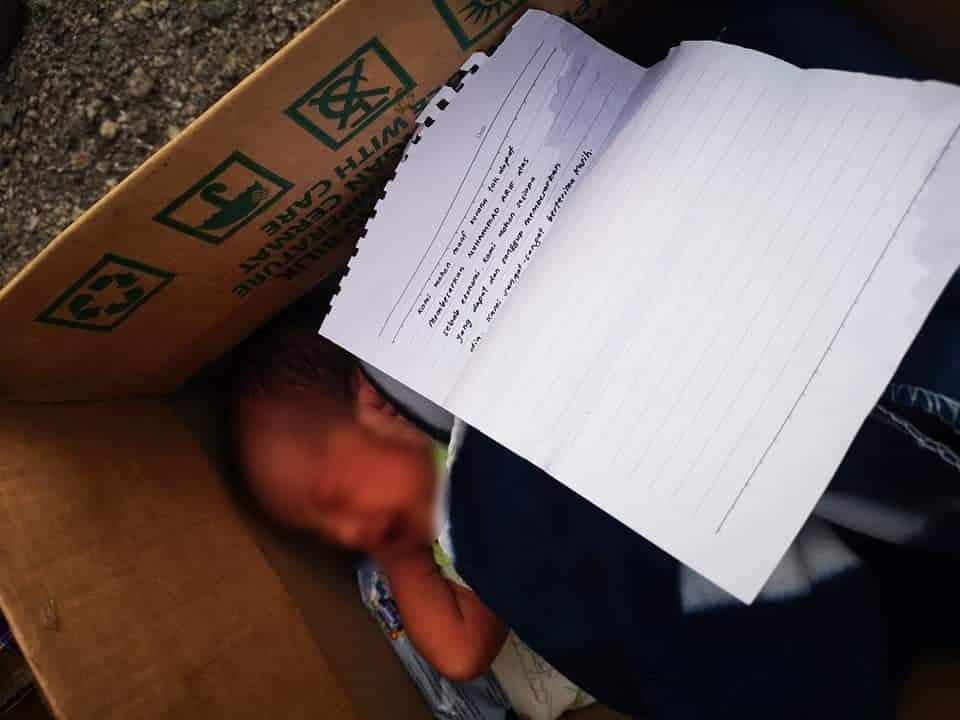 Bayi Comel Dibuang Ke Surau, Sekeping Surat Dalam Kotak Dedah Sebab Sebenar