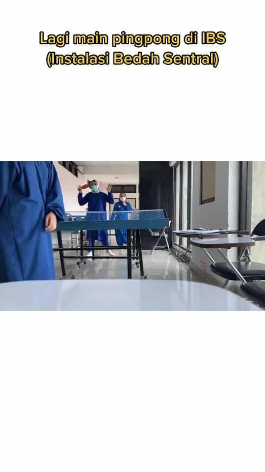 [VIDEO] Leka Main Ping Pong, Geng Nurse Terus Gelabah Bila Ketua Dah Masuk