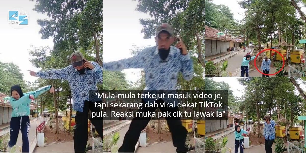 [VIDEO] Malu Lepas BerTikTok Tengah Jalan, Tak Sangka Pak Cik Ini Ikut Menari