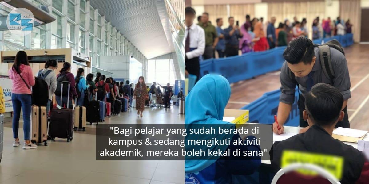 Ibu Bapa & Pelajar Terkejut, Pendaftaran Masuk IPT Bulan Ini Disarankan Tangguh