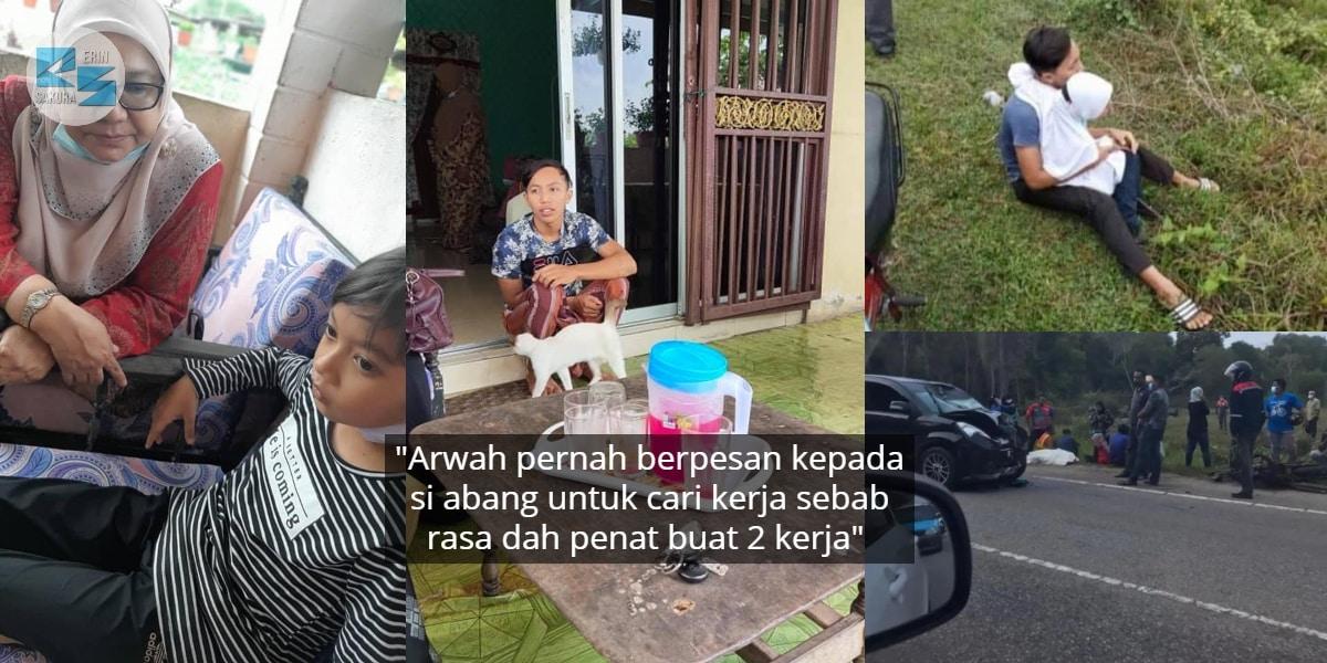 Tragedi Ibu Nahas Depan Mata, Anak Asyik Kurung Diri & Menangis Dalam Bilik