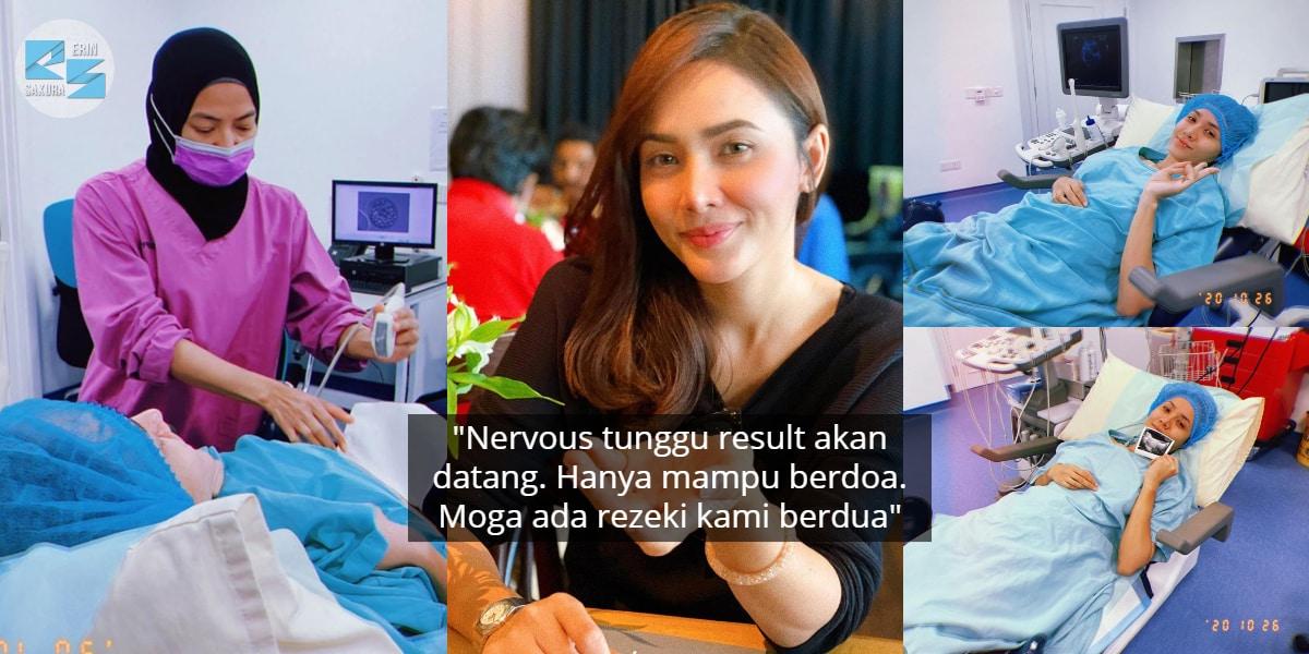 Selesai Buat Embryo Transfer, Siti Elizad Akui Teruja Menanti Keputusan Lanjut