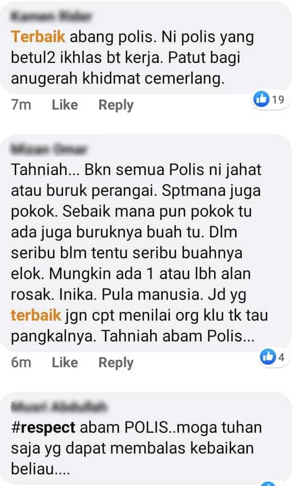 Jalan Terhalang Sebab Lori Terbalik, Polis Baik Hati Bonceng Student Jawab Exam