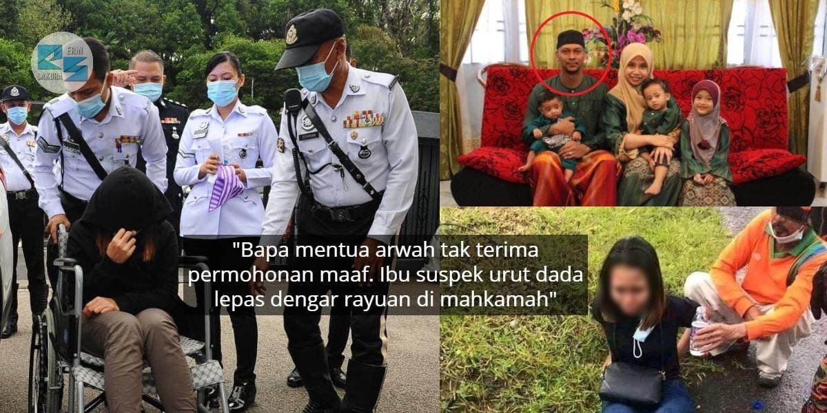 Rayu & Mohon Maaf Pada Keluarga Anggota TLDM, Ibu Suspek Tak Dapat Tahan Sebak