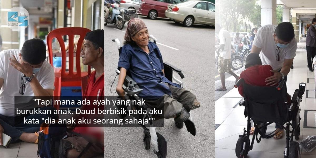 """Ayah Kudung Pasrah Anak Curi Wheelchair-""""Penderhakaan Yang Tak Boleh Dimaafkan"""""""