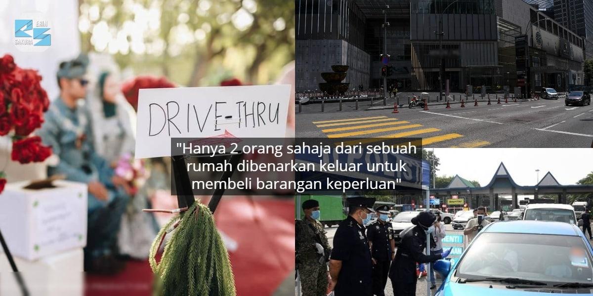 Kena Tarik Balik Kad Kahwin, 14 Oktober Mula PKPB Di Selangor, Putrajaya & KL