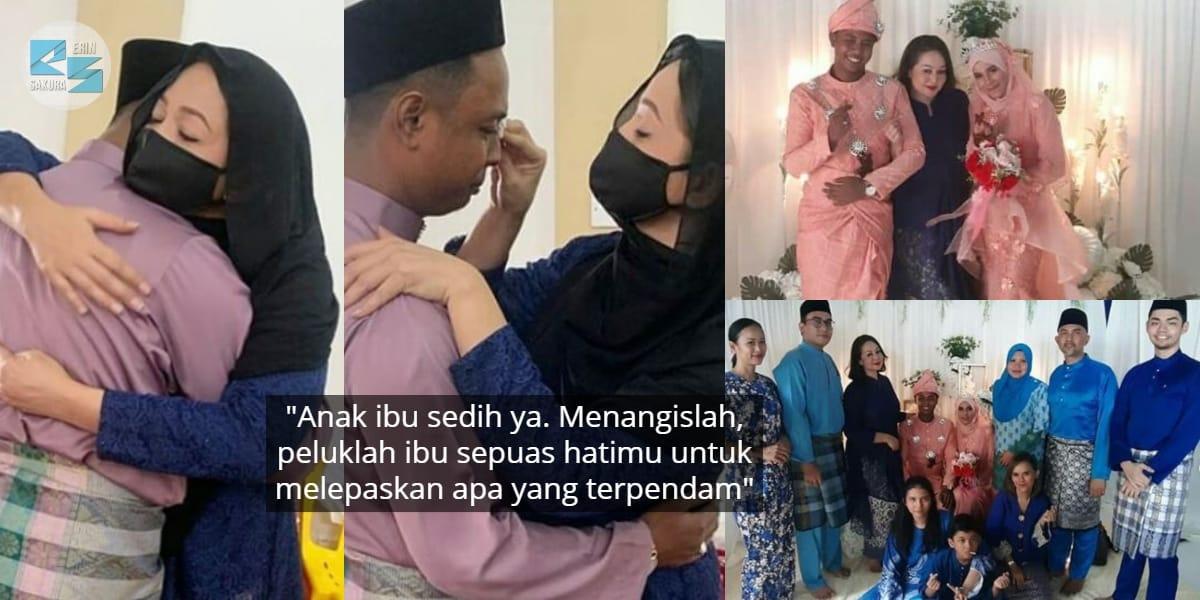 """""""Doa Ibu Tiada Hijab""""-Jasmin Hamid Harap Anak Jaga Amanah Sebagai Suami Orang"""