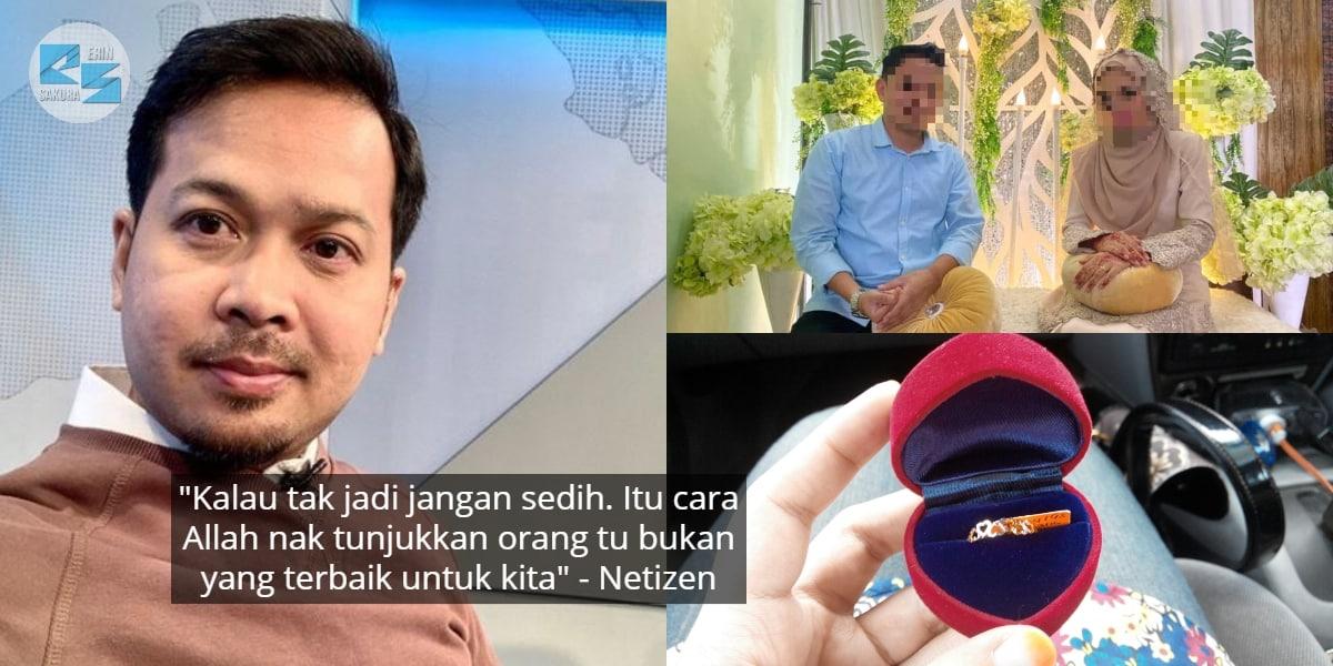 """Tunang Tak Semestinya Kahwin..""-Fedtri Yahya Ulas Kisah Selingkuh Jual Cincin"