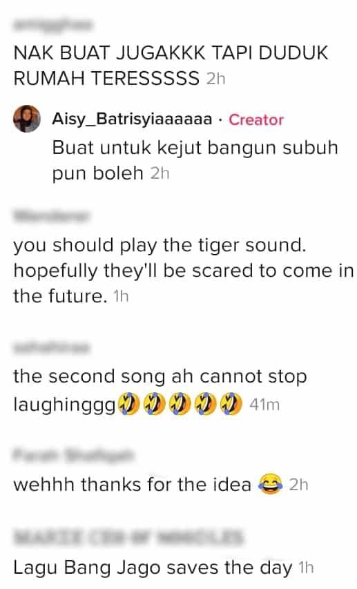 Geram Makanan Asyik Kena 'Kebas', Gadis Halau Monyet Guna Lagu 'Bang Jago'