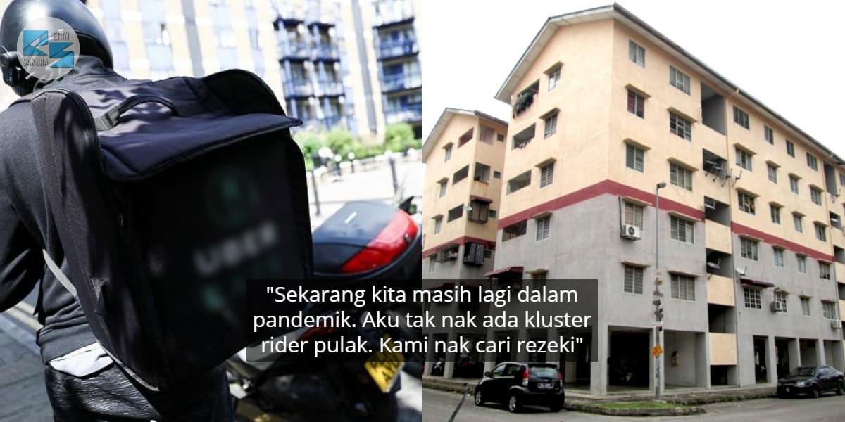 """""""Kami Pun Ada Family""""-Rider Rayu Customer Rumah Bertingkat Usah Penting Diri"""