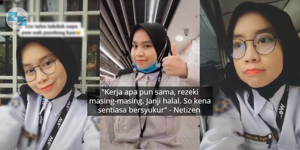 Muda Lagi Dah Jadi Security Guard, Sekali Ramai Try 'Ngorat' Gadis Ni Kat Komen
