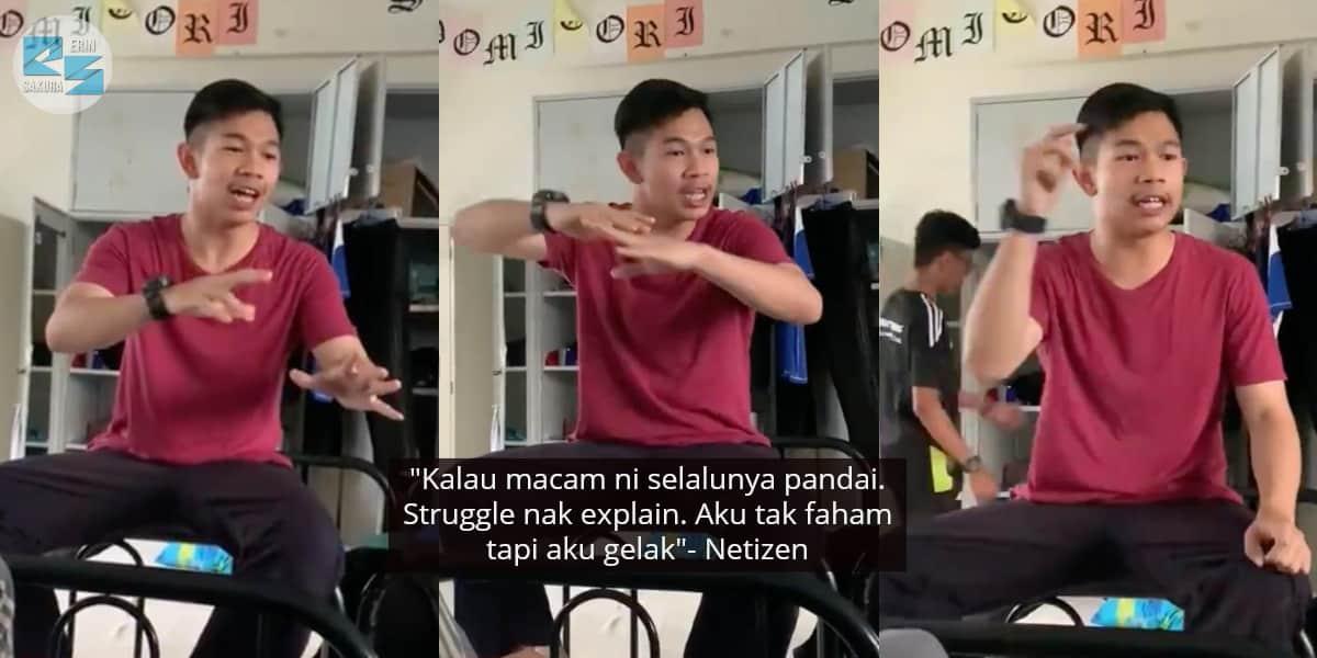 [VIDEO] Naik Gila Subjek Akaun Susah, Pemuda Cerita Struggle Pada Kawan-Kawan