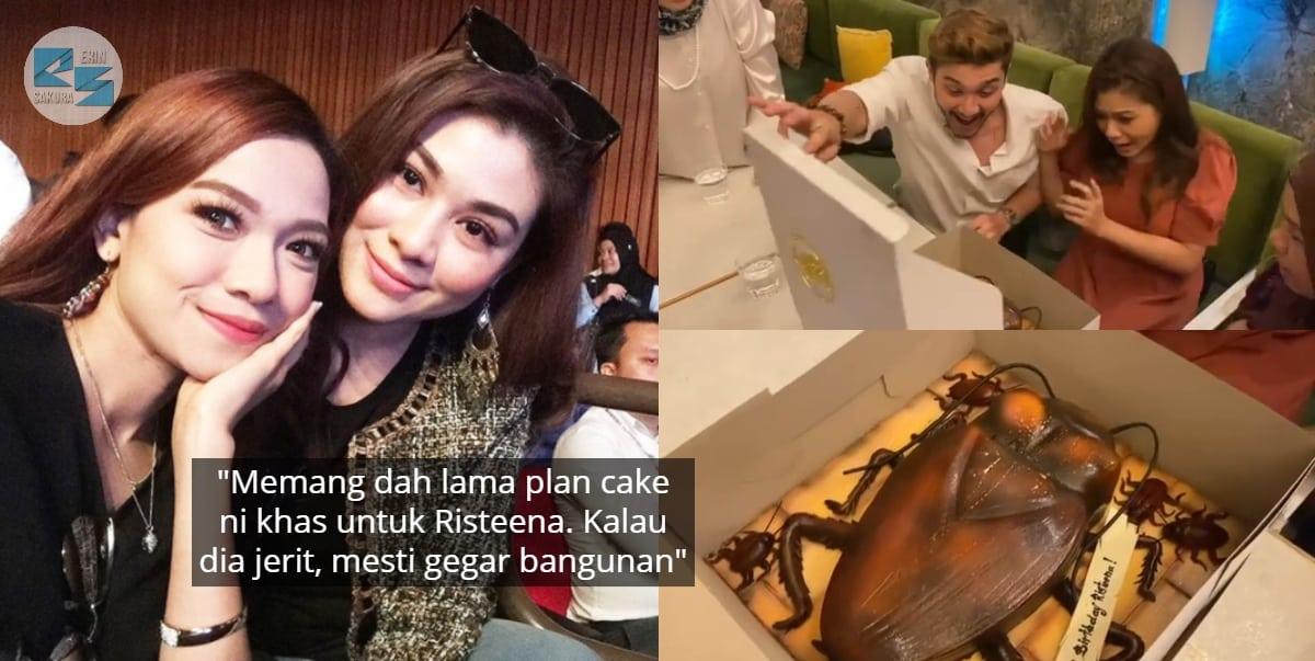 [VIDEO] Sempat 'Prank' Kakak, Ruhainies Hadiahkan Kek Lipas Sempena Hari Jadi
