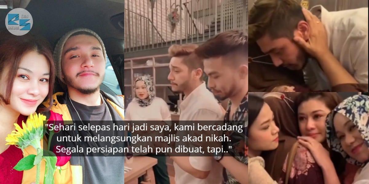 [VIDEO] Tunda Majlis Kahwin, Gugur Air Mata Jantan Isa Khan Depan Ibu Risteena