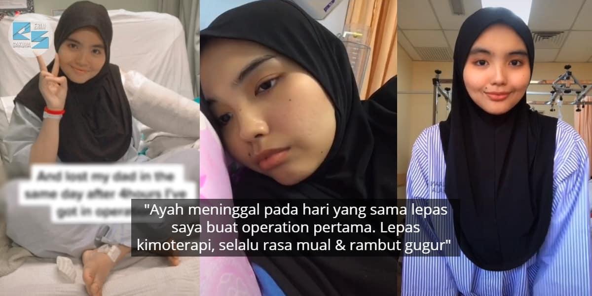 [VIDEO] Hidap Barah Limfoma, Ibu Muda Sebak Rambut Makin Gugur Lepas Kimoterapi