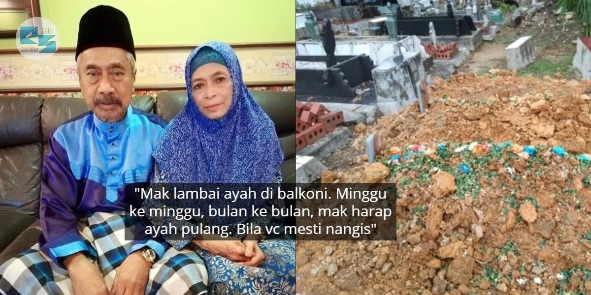 Rindu Menebal Sejak Terpisah 241 Hari, Ayah Hanya Sempat Tatap Jasad Ibu Saja
