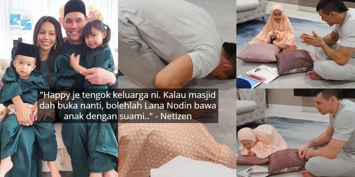 [VIDEO] Nekad Belajar Ilmu Agama, Suami Lana Nodin Tak Segan Tunjuk Effort..