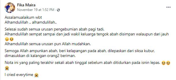 Bapa Ajal Bertarung Nyawa Lawan COVID-19, Anak Terkilan Dituduh Jadi Penyebab..
