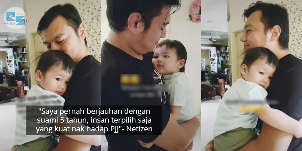 [VIDEO] Ujian Kerja Offshore, Anak Tenung Lama Muka Ayah Lepas Sebulan Berpisah