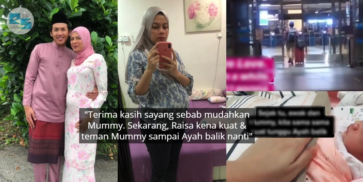 Suami Off-Shore Sejak Hamil 3 Bulan, Wanita Tabah Lahirkan Anak Seorang Diri