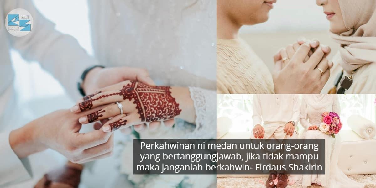 Perkahwinan Bukanlah Setakat Berkongsi Harta, Tetapi Berkongsi Hati & Perasaan