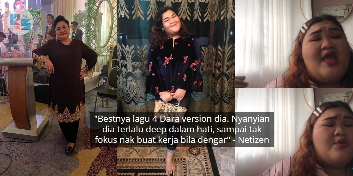 [VIDEO] Nyanyian '4 Dara' Versi R&B, Adibah Noor Pun Puji Suara Lunak Gadis Ini
