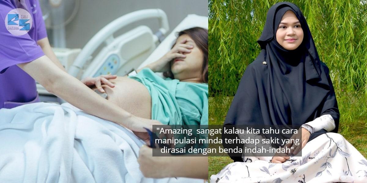 Risau Perit Contraction? Wanita Dedah Teknik 'Gentle Birth' Yang Dijamin Tenang