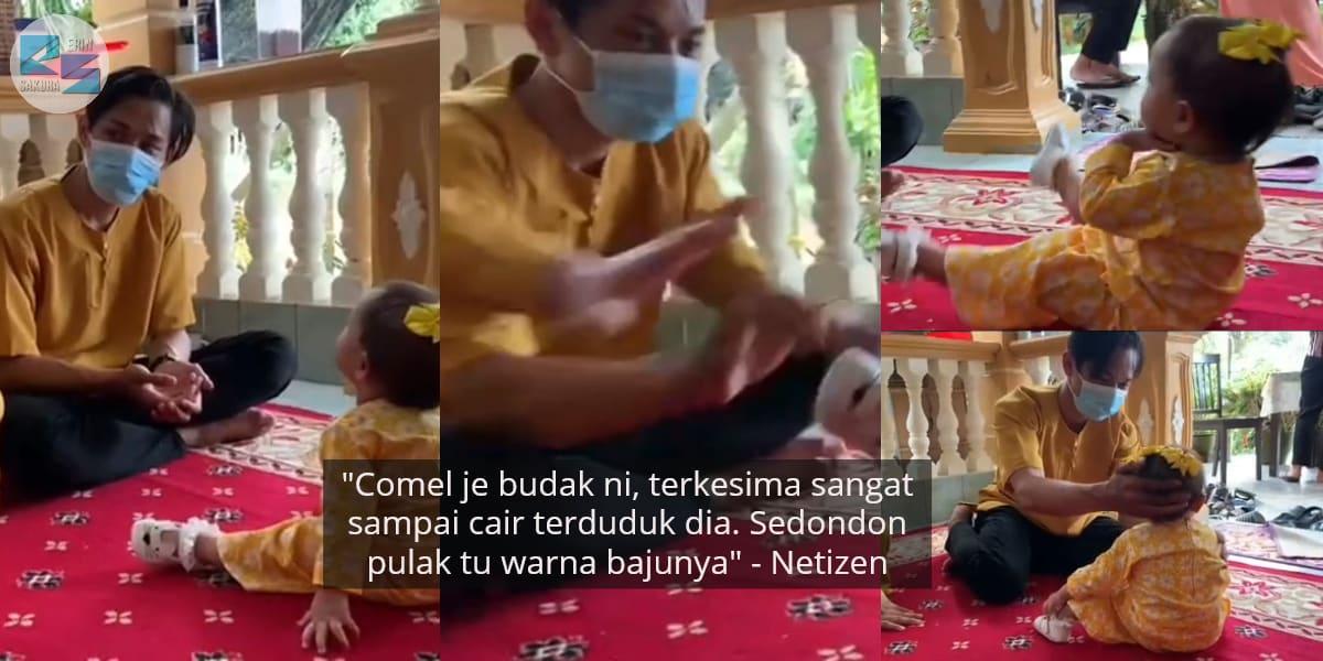 [VIDEO] Budak Kecil Baru Nak 'Mengurat' Suami Orang, Tapi Endingnya Lucu Habis