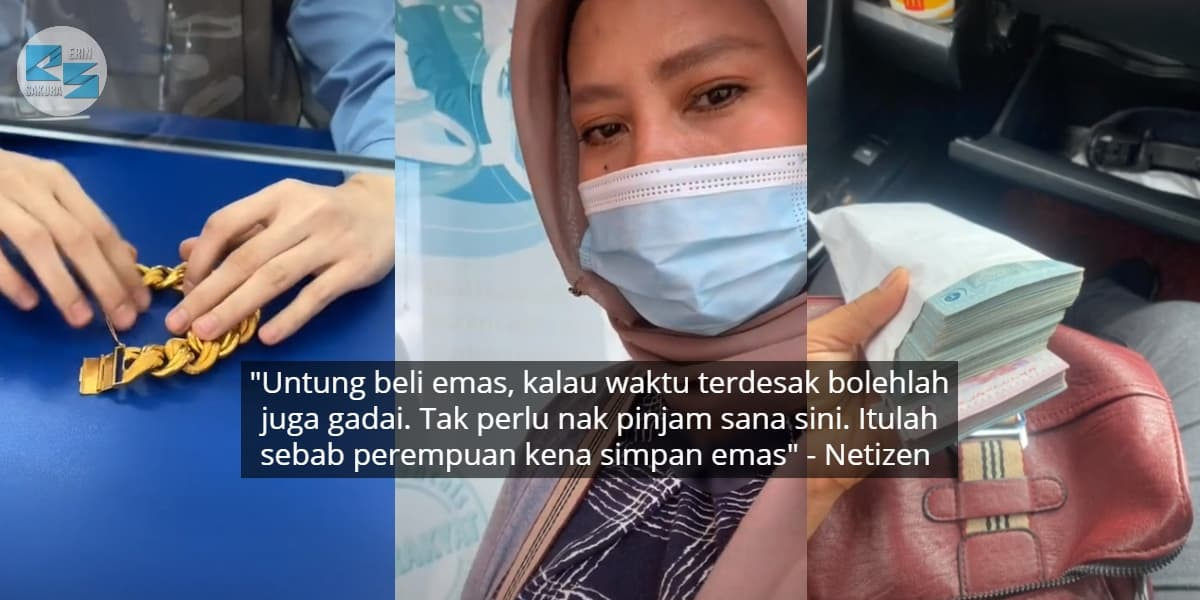 "[VIDEO] ""Biar Tak Lawa Janji Ada Emas""-Wanita Terkesan PKPB Pergi Gadai Gelang"