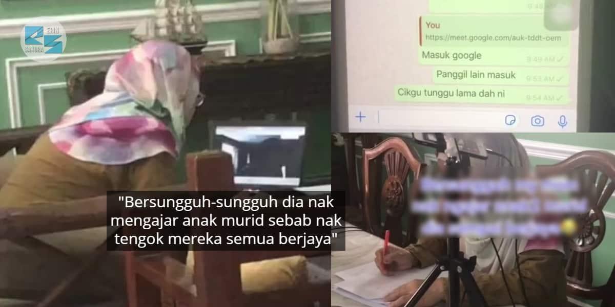 [VIDEO] Sejam Cikgu Beriya Tunggu Depan Laptop, Seorang Murid Pun Tak Muncul