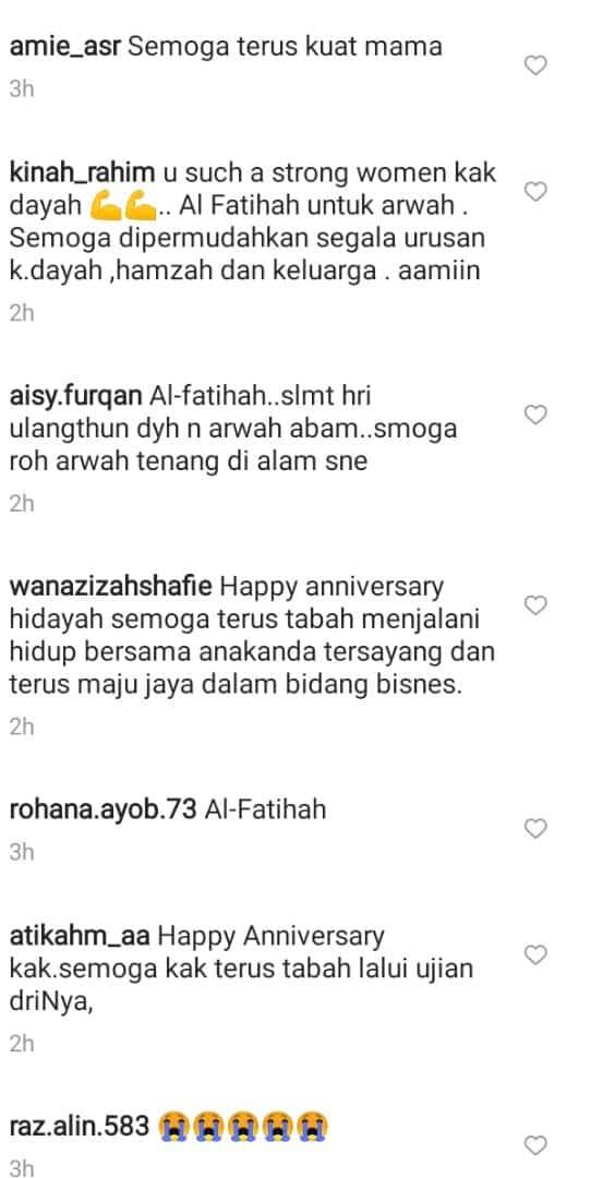 [VIDEO] Janji Akan Jaga Hamzah, Balu Redha Sambut Anniversary Ke-3 Tanpa Abam