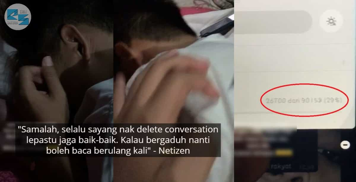 [VIDEO] Tak Sengaja Padam Puluhan Ribu Chat, Pemuda Nangis Depan Girlfriend