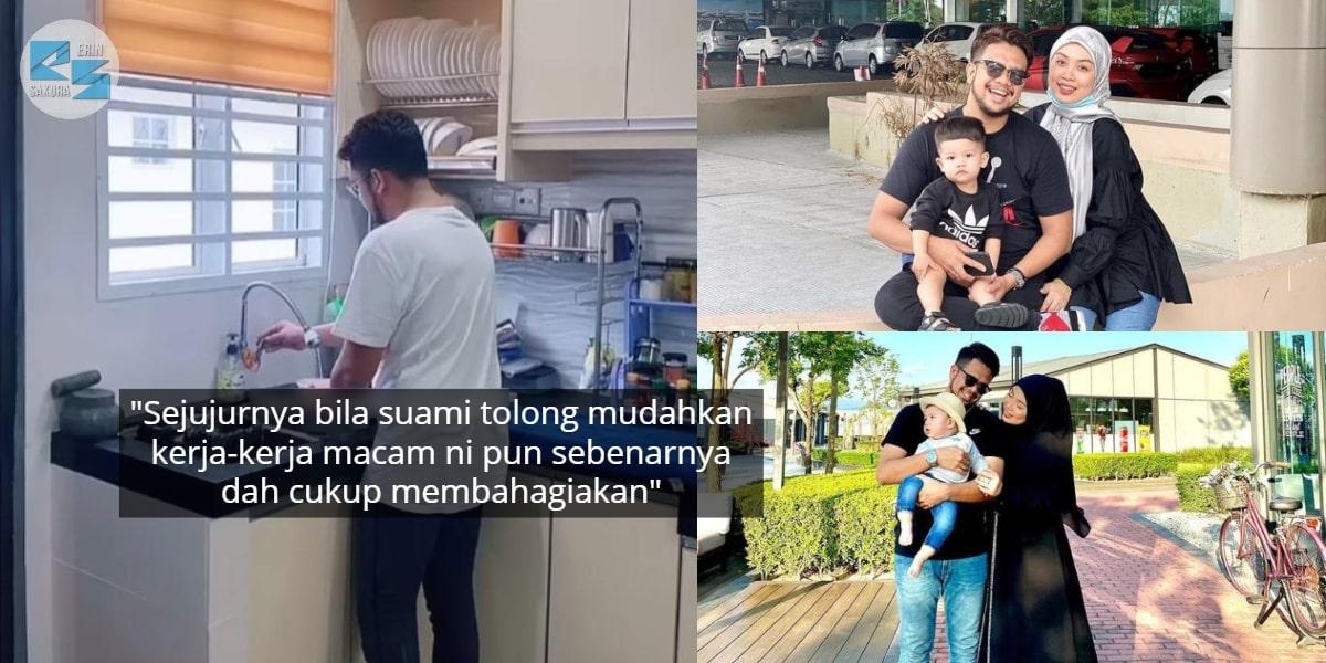 Serba Salah Suami Kena Cuci Pinggan, Tasha Manshahar Syukur Dapat Jodoh Caring