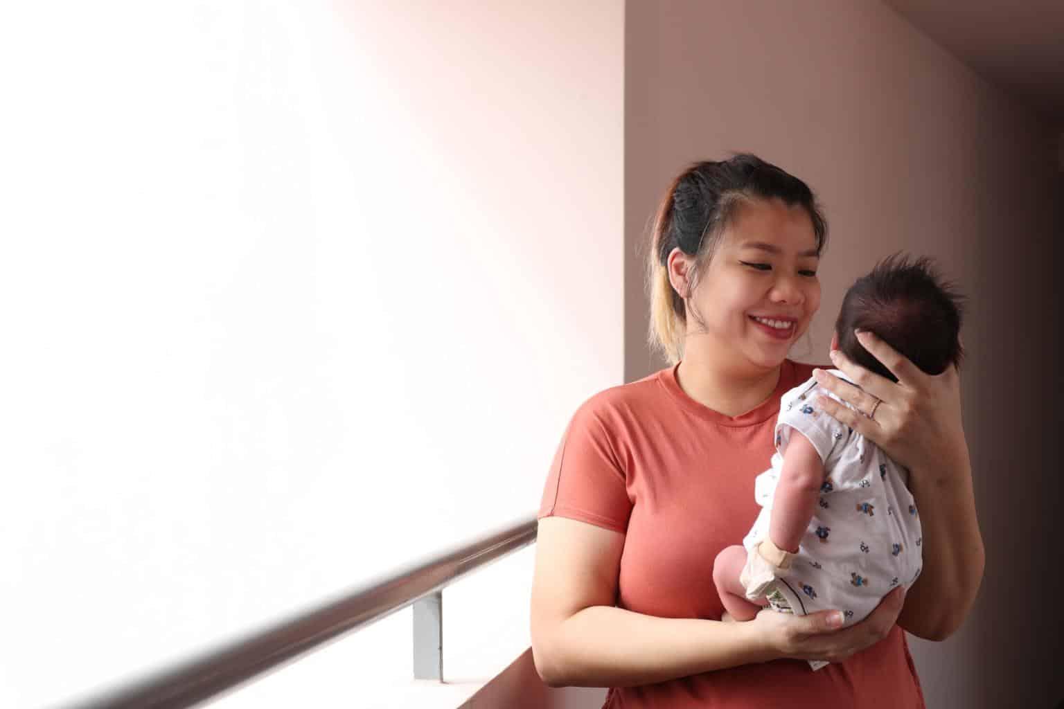 Disahkan Positif Lepas Balik Eropah, Ibu Syukur Lahirkan Bayi Kebal Covid-19