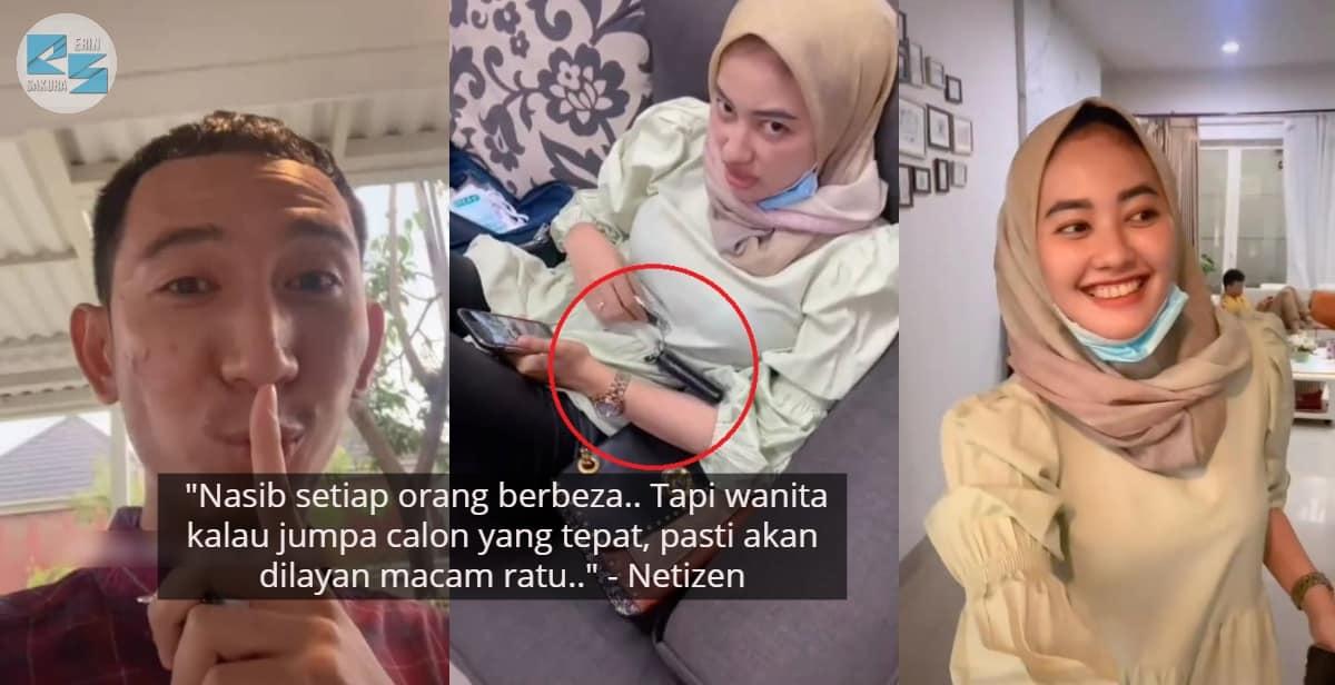 [VIDEO] Bini Terkejut Dilempar Kunci, Suami Iring Keluar Rumah Terus Speechless