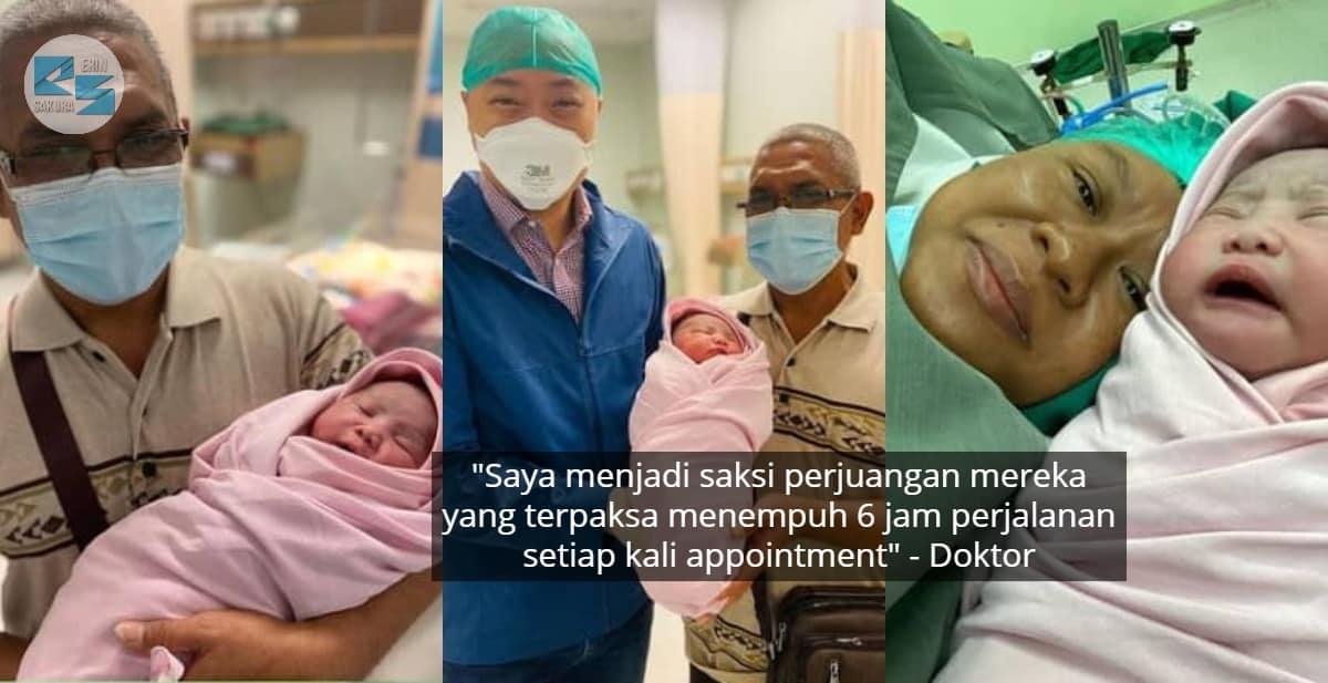 Penantian Penuh Sabar Selama 21 Tahun, Akhirnya Timang Anak Sulung Melalui IVF