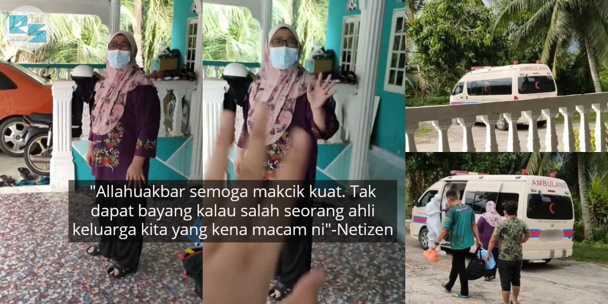 [VIDEO] Ibu Disahkan Positif COVID-19, Anak Tahan Sebak Saat Iring Ke Ambulans