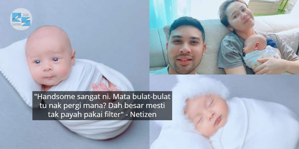 Persis Anak Patung, Photoshoot Pertama Baby Emma Maembong Buat Ramai 'Melting'